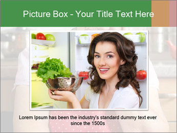 Smiling senior woman PowerPoint Template - Slide 15