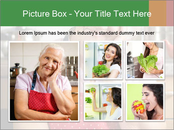 Smiling senior woman PowerPoint Template - Slide 19