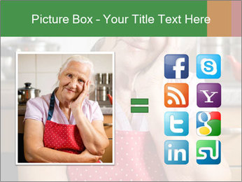 Smiling senior woman PowerPoint Template - Slide 21