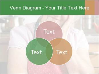 Smiling senior woman PowerPoint Template - Slide 33