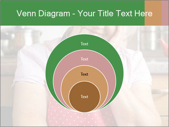 Smiling senior woman PowerPoint Template - Slide 34
