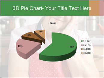 Smiling senior woman PowerPoint Template - Slide 35
