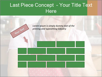 Smiling senior woman PowerPoint Template - Slide 46