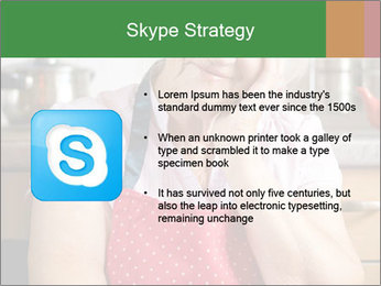 Smiling senior woman PowerPoint Template - Slide 8