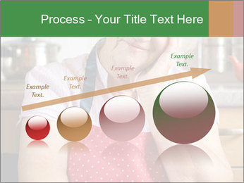 Smiling senior woman PowerPoint Template - Slide 87