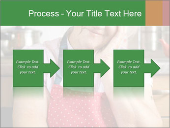 Smiling senior woman PowerPoint Template - Slide 88