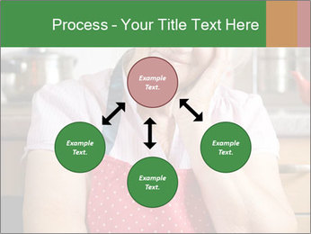 Smiling senior woman PowerPoint Template - Slide 91