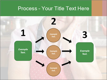 Smiling senior woman PowerPoint Template - Slide 92