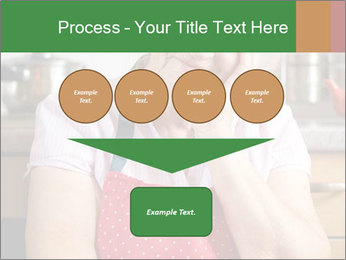 Smiling senior woman PowerPoint Template - Slide 93