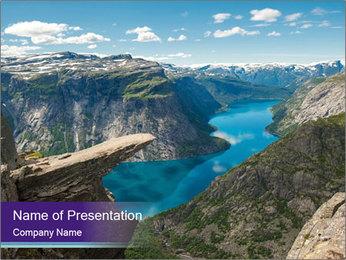 Rock PowerPoint Template - Slide 1