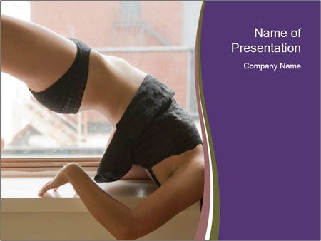Attractive Woman PowerPoint Templates