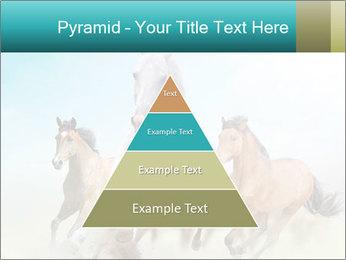 Horses in dust PowerPoint Template - Slide 30
