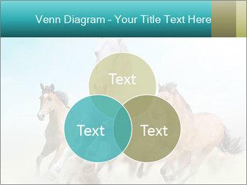 Horses in dust PowerPoint Template - Slide 33