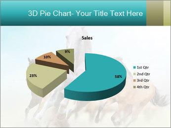 Horses in dust PowerPoint Template - Slide 35