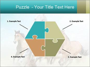 Horses in dust PowerPoint Template - Slide 40