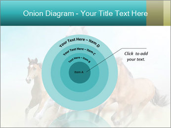 Horses in dust PowerPoint Template - Slide 61