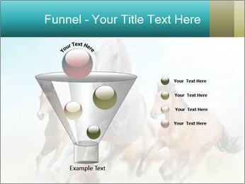 Horses in dust PowerPoint Template - Slide 63