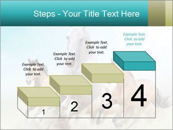 Horses in dust PowerPoint Template - Slide 64