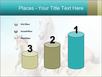 Horses in dust PowerPoint Template - Slide 65
