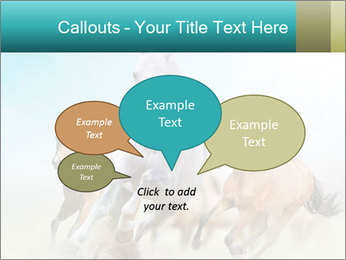 Horses in dust PowerPoint Template - Slide 73