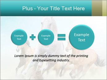 Horses in dust PowerPoint Template - Slide 75