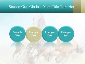 Horses in dust PowerPoint Template - Slide 76
