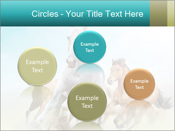 Horses in dust PowerPoint Template - Slide 77