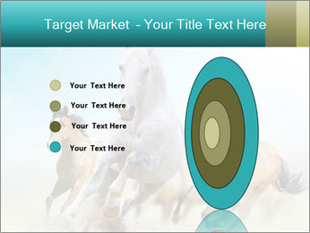 Horses in dust PowerPoint Template - Slide 84