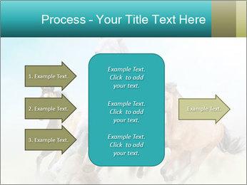 Horses in dust PowerPoint Template - Slide 85