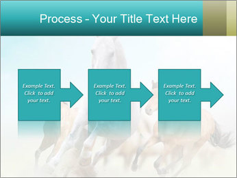Horses in dust PowerPoint Template - Slide 88