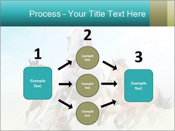 Horses in dust PowerPoint Template - Slide 92