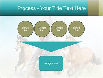 Horses in dust PowerPoint Template - Slide 93