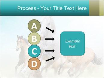 Horses in dust PowerPoint Template - Slide 94