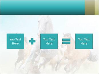 Horses in dust PowerPoint Template - Slide 95
