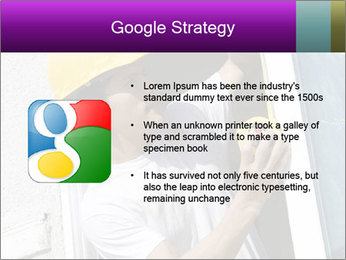Male taking PowerPoint Template - Slide 10