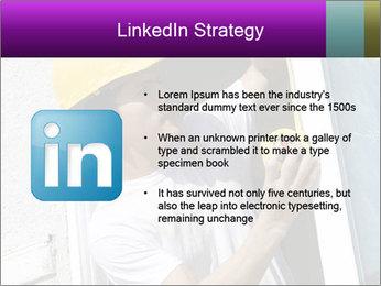 Male taking PowerPoint Template - Slide 12