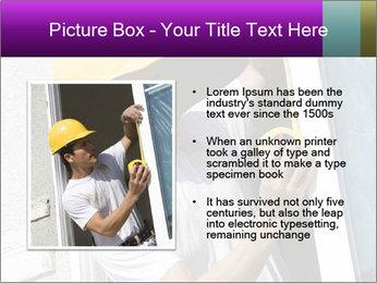 Male taking PowerPoint Template - Slide 13