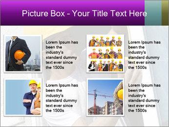 Male taking PowerPoint Template - Slide 14
