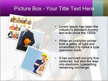Male taking PowerPoint Template - Slide 17