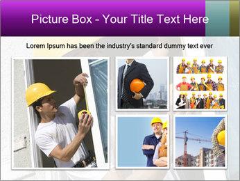 Male taking PowerPoint Template - Slide 19