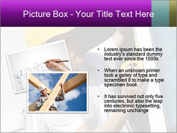 Male taking PowerPoint Template - Slide 20