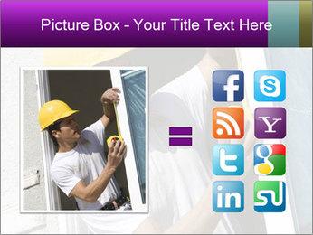 Male taking PowerPoint Template - Slide 21