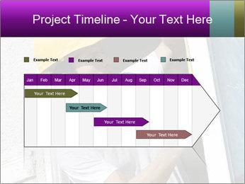 Male taking PowerPoint Template - Slide 25