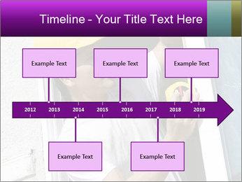 Male taking PowerPoint Template - Slide 28