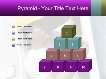 Male taking PowerPoint Template - Slide 31
