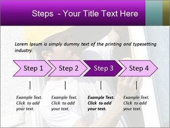 Male taking PowerPoint Template - Slide 4