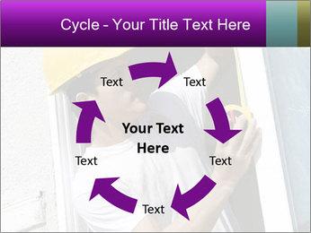 Male taking PowerPoint Template - Slide 62