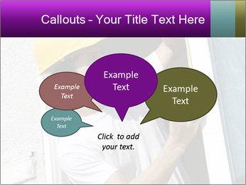 Male taking PowerPoint Template - Slide 73