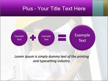 Male taking PowerPoint Template - Slide 75