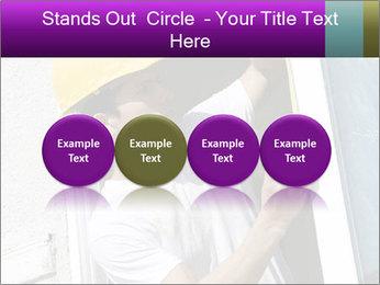 Male taking PowerPoint Template - Slide 76